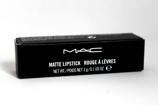 MAC Matte Lipstick Heroine 2